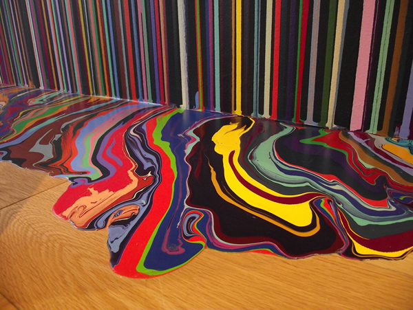ian davenport abstract art to fashion aylesbury studios